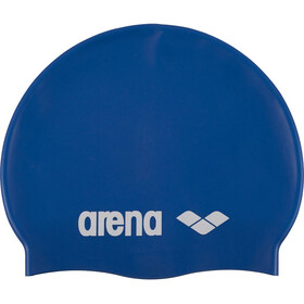 arena Classic Silicone Swimming Cap Kids skyblue-white